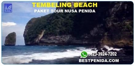 Tembeling Beach, Tembeling Water Spring, Paket tour nusa penida