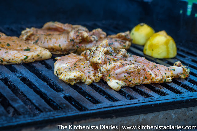 Lemon & Herb Grilled Chicken Breasts
