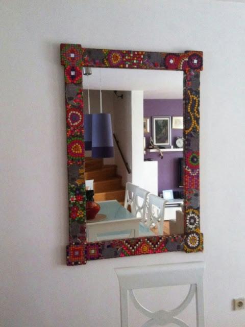 mozaik ayna yapımı