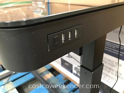 Tresanti Adjustable Height Desk Costco Weekender