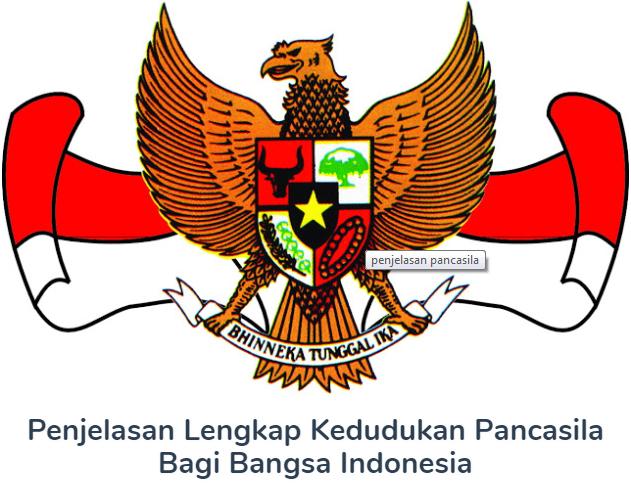 Kedudukan Pancasila Bagi Bangsa Indonesia