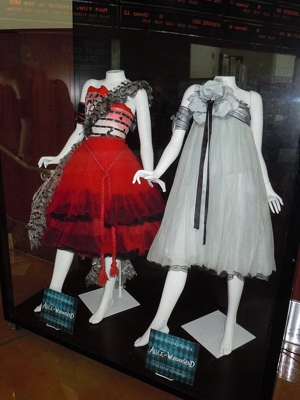 Colleen Atwood Alice in Wonderland movie dresses