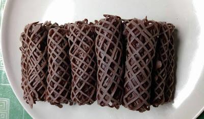 Resepi : Roti Jala Versi Coklat