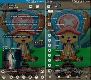 BBM mod Kalong Transparan versi 3.3.2.31