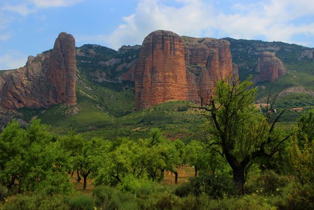 Los Mallos de Riglos, el cielo de Huesca