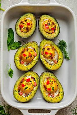 Keto Avocado And Eggs