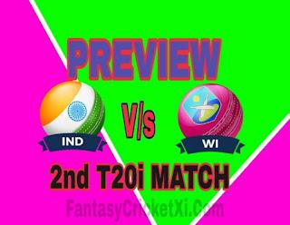 IND Vs WI T20i DREAM11 TEAM PREDICTION
