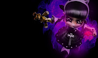 Goth Annie Skin League of Legends Wallpaper