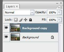 hasil duplicate layer photoshop