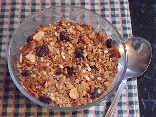 FromMyKitchen Make Your Own Granola Cereal