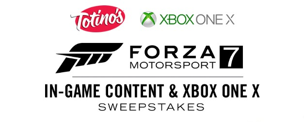 Forza Motorsport 7 Xbox One X Sweepstakes