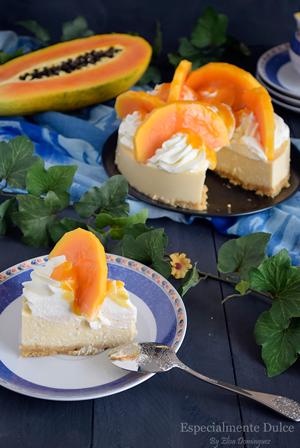 recetario-reto-disfruta-papaya-recetas-dulces-cheesecake-requeson-coulis