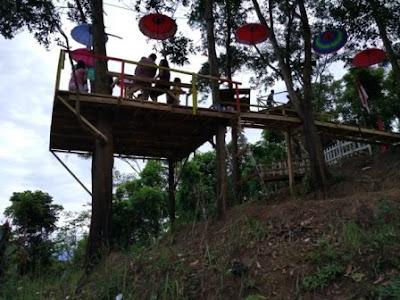 Wisata Bukit Pangonan Rumah Pohon