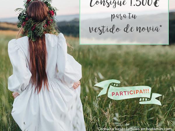 Concurso BodaMás - Gana 1.500 € para tu boda