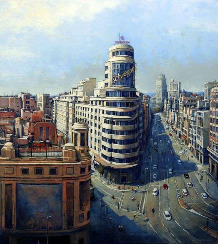 Городские пейзажи. Behshad Arjomandi