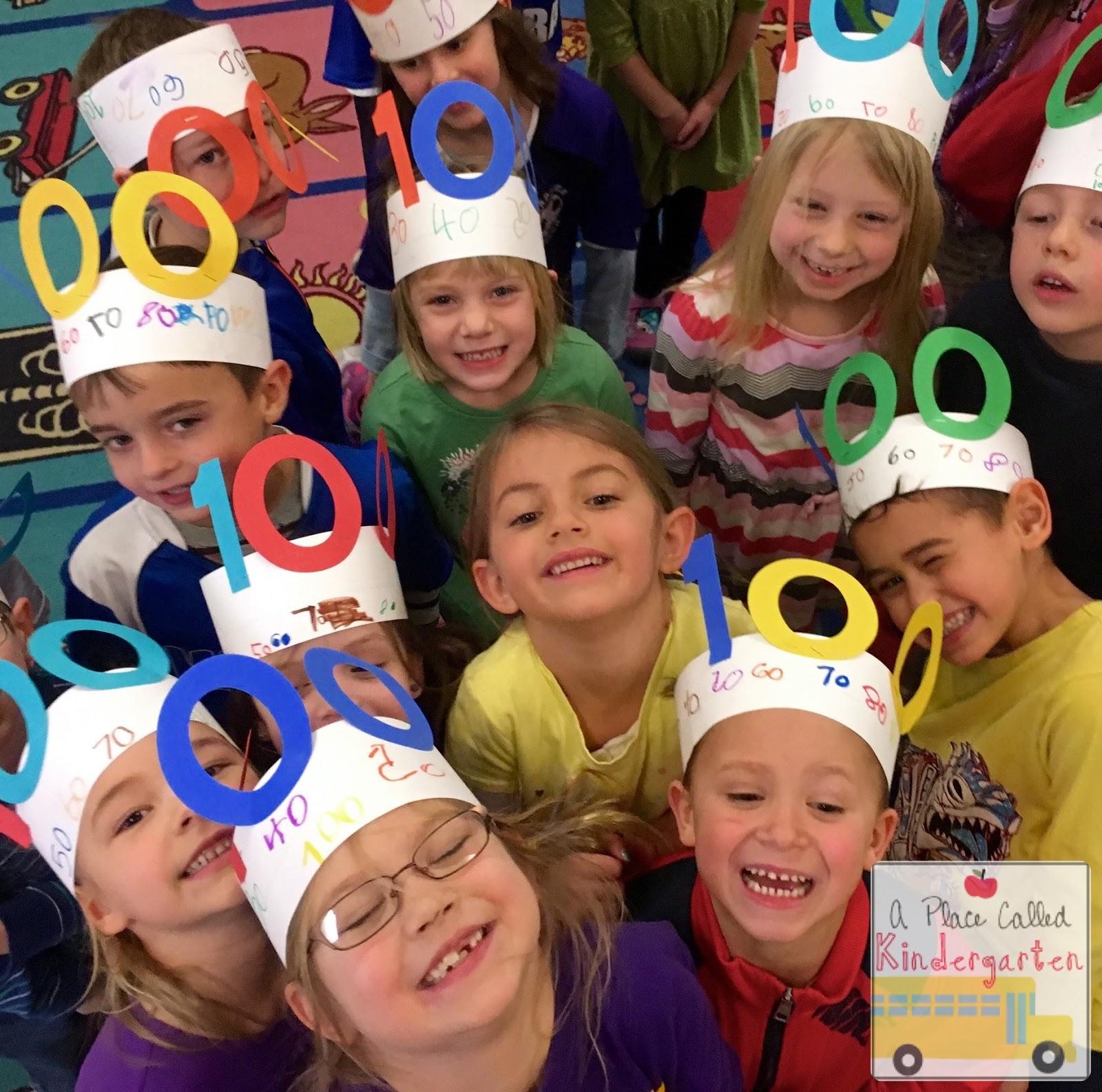 A Place Called Kindergarten 100th Day Fun In Kindergarten