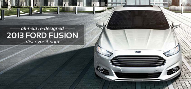 2013 Ford Fusion Earns IIHS Top Safety Pick+