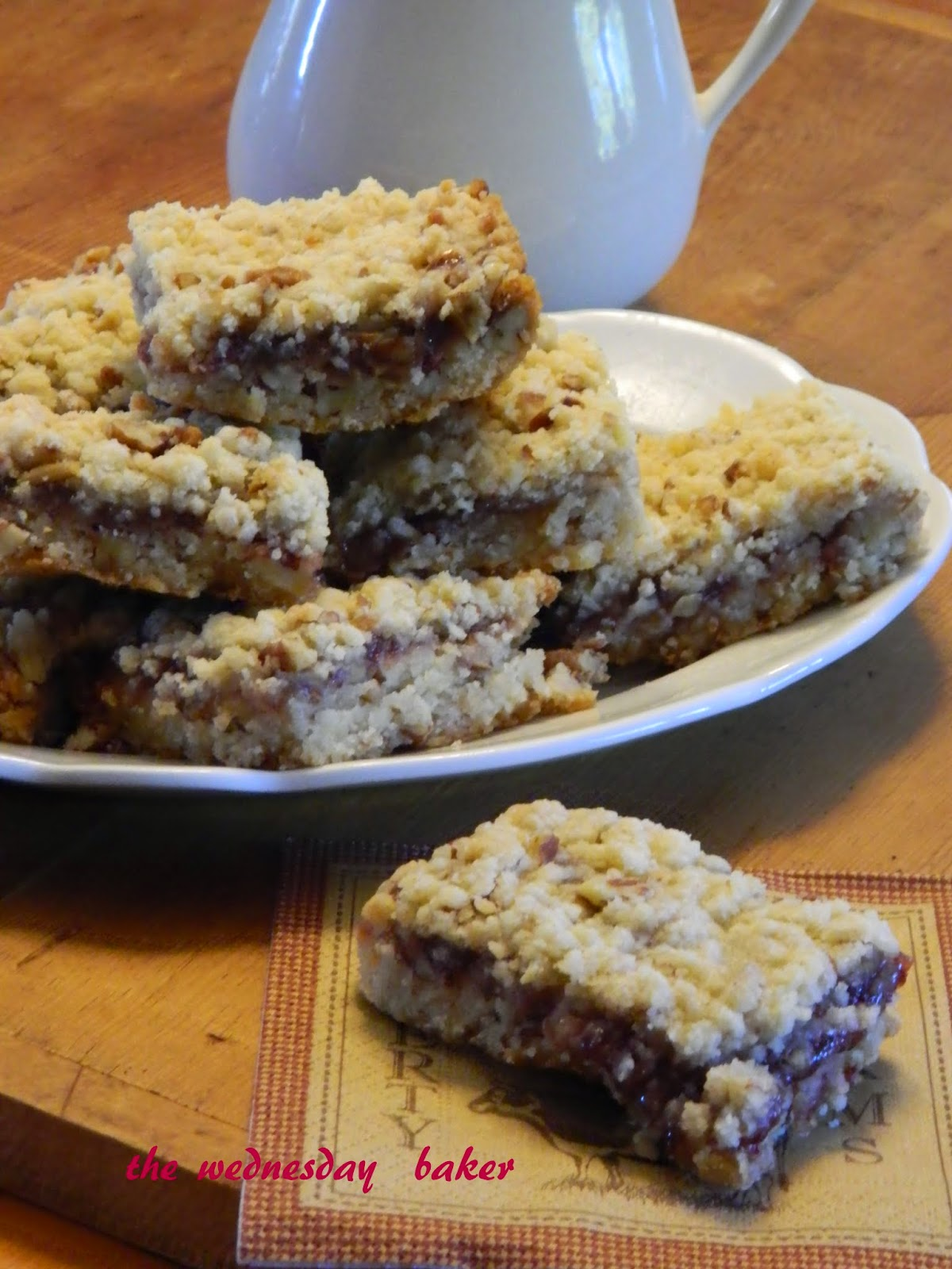 Cranberry Pecan Bars Using Cake Mix