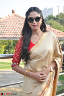 Angana Roy in Silk Saree at Teaching Tree Carnival .xyz 024.JPG