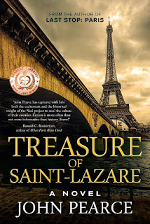 Treasure of Saint-Lazare, A Paris Mystery by John Pearce