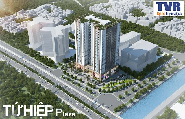 Phối cảnh dự án Tứ Hiệp Plaza