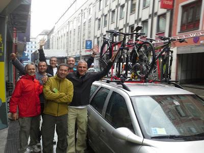 cycling via claudia augusta germany