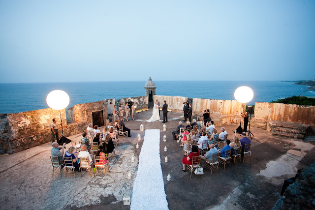 Our Wedding Ceremony on Castillo San Felipe del Morro | San Juan, Puerto Rico
