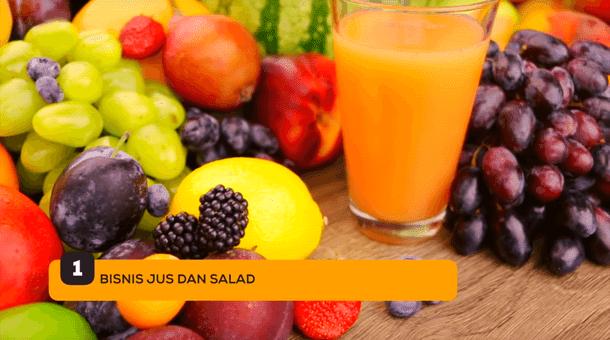 1. Bisnis Jus dan Salad