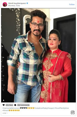 BHARTI-SINGH-WITH-HARSH-Roka