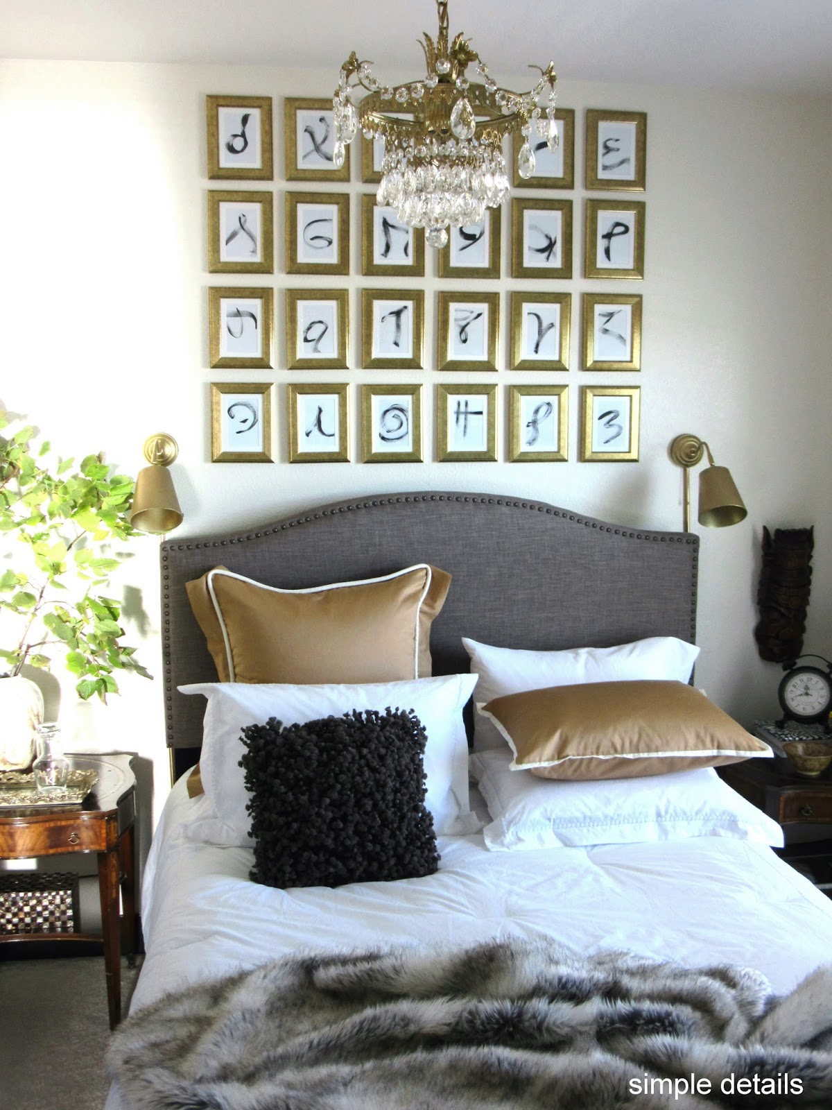 Rooms: Simple Details: Budget Guest Room Reveal