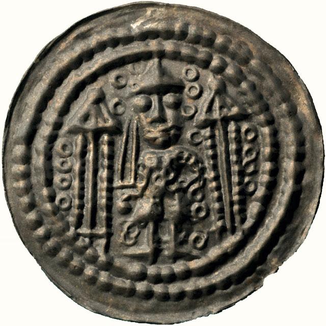 Facial recognition for coins