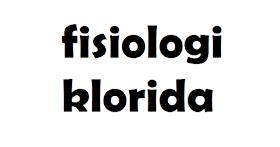 Fisiologi Klorida dalam Tubuh