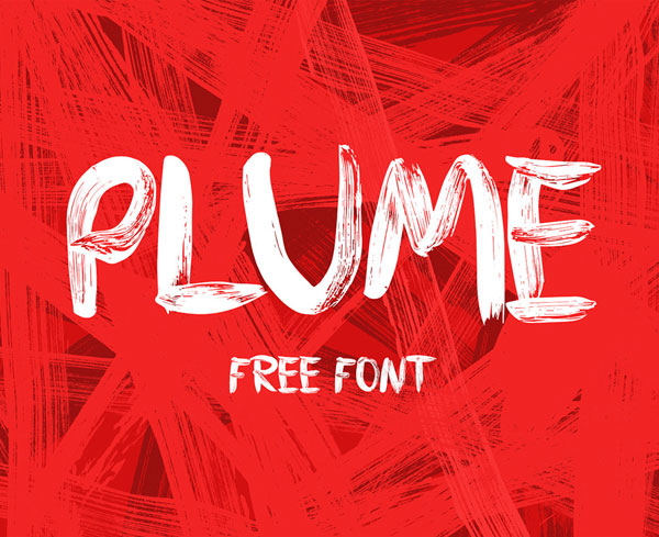 PLUME Free Font