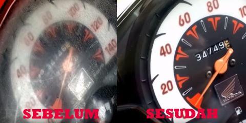 Terbongkar, Ini Rahasia Menghilangkan Retakan Pada Speedometer Motor! Dijamin Ampuh