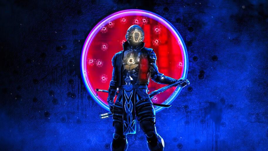 Cyberpunk, Samurai, Warrior, 4K, #4.3095
