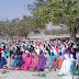 Muslims in Bauchi state slaughter a cow as they pray for President Buhari's health