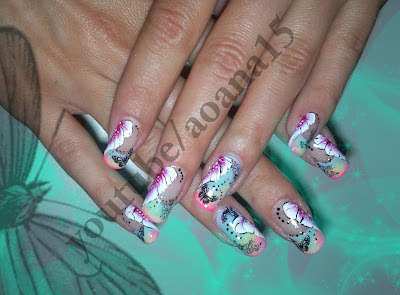 Aoana Nail Art June 2012