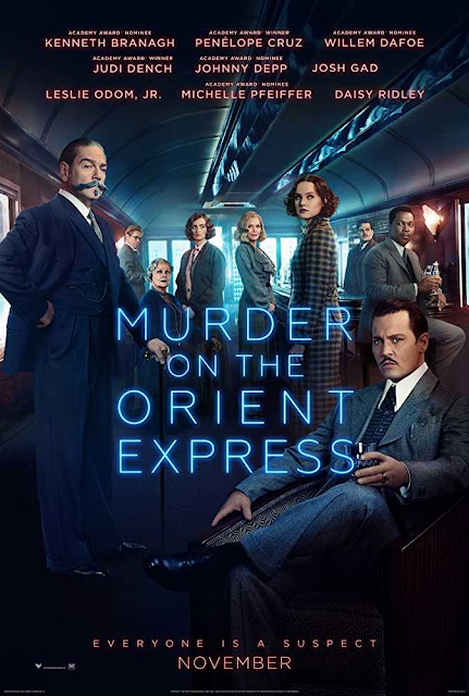 Poster Murder on the Orient Express (2017) Full Movie Download Dual Audio 720p