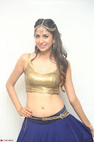 Malvika Raaj in Golden Choli and Skirt at Jayadev Pre Release Function 2017 ~  Exclusive 080.JPG