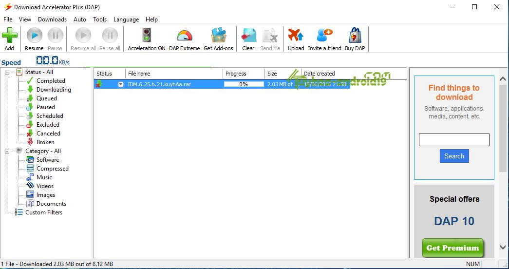 Download Accelerator Plus Premium