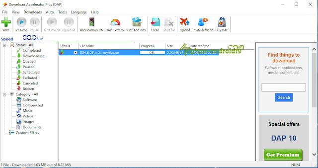 Download Accelerator Plus Premium 10.0.6.0 Terbaru