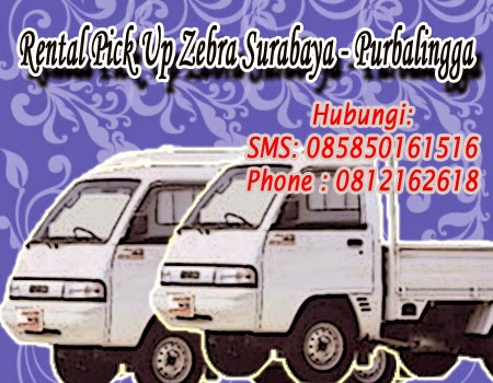 Rental Pick Up Zebra Surabaya - Purbalingga