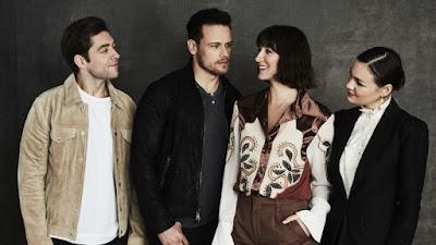 Los actores principales de la serie Outlander
