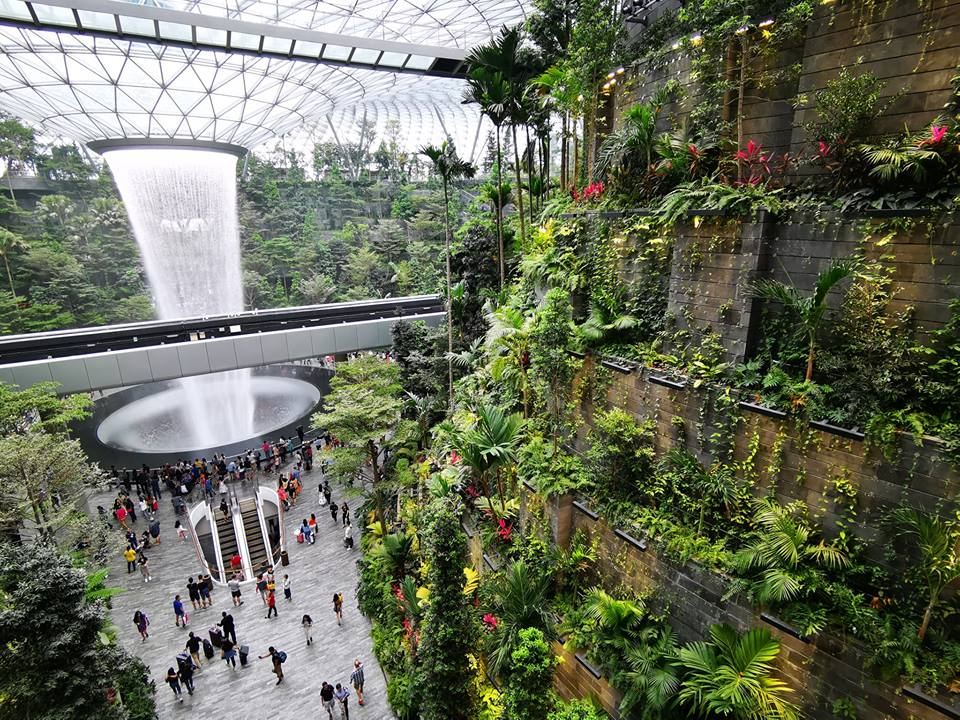 Singapore Green Building Council at Jewel Changi Airport