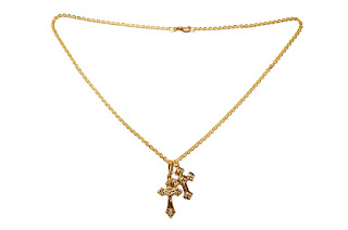 Chipina two cross necklace