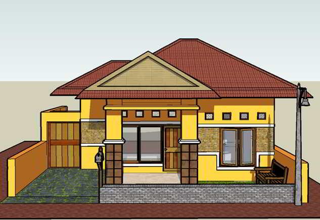 Desain Rumah Sederhana 3 Kamar Tidur