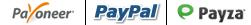 Payoneer, PayPal & Payza