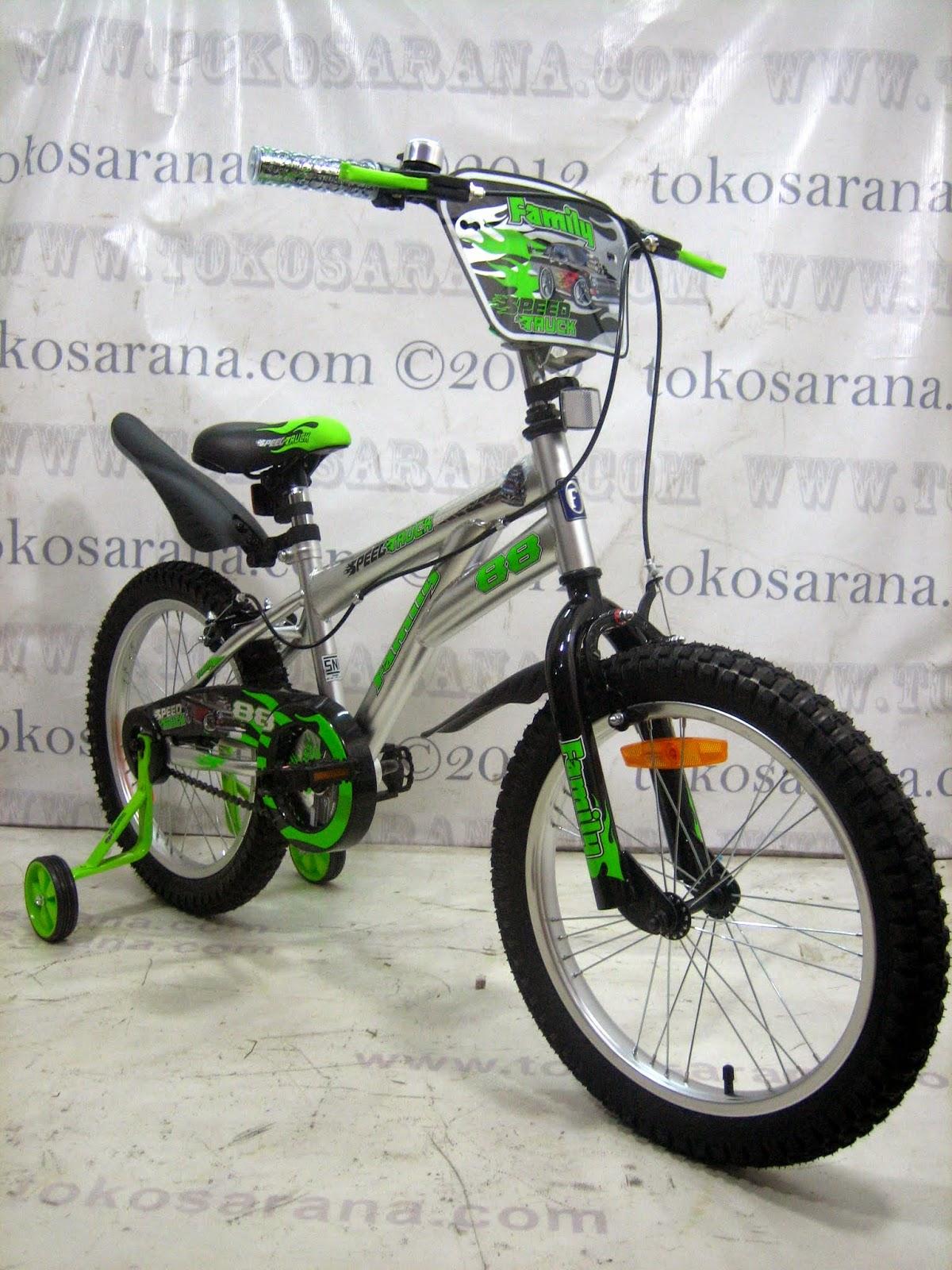tokosarana™ | Mahasarana Sukses™: Sepeda Anak Family Speed
