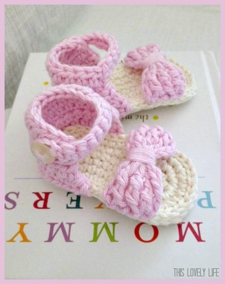 14a16ebdf767ed Crochet Baby Sandals
