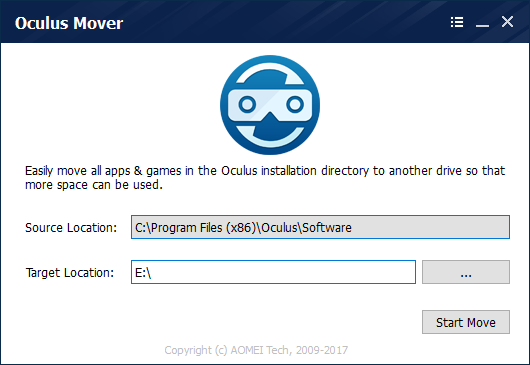 Oculus Mover Oculus Rift Data Transfer Tool - review